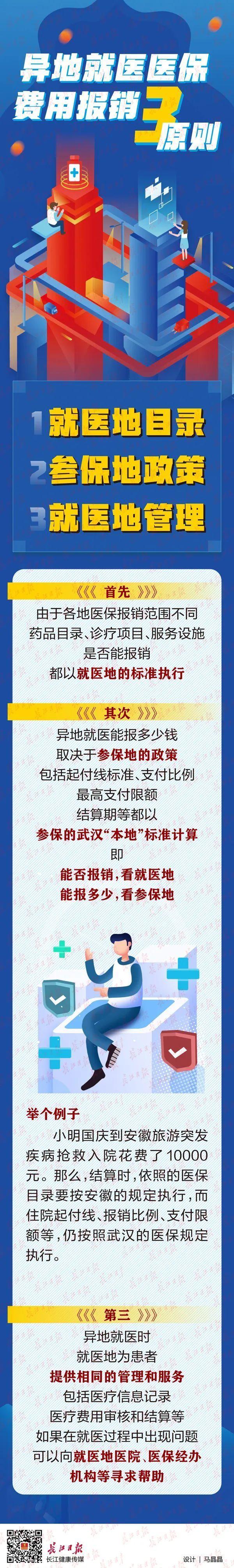 出门在外的武汉人怎样用医保 异地使用医保报销三原则