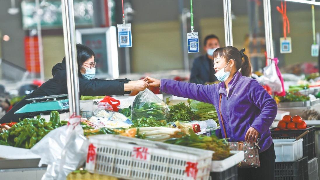 新洲菜場改造寬敞通風