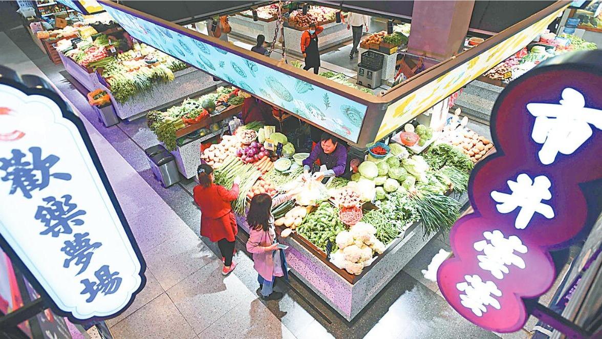 武漢菜市場最大規模改造完成