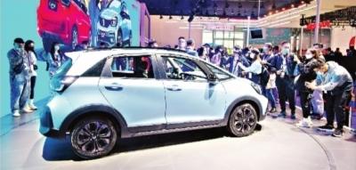 众多新车亮相武汉车展 新能源智能网联汽车引关注