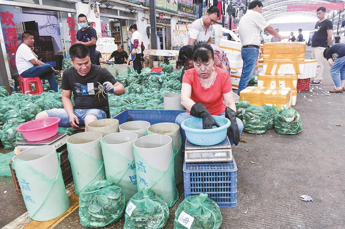 武汉螃蟹价格多少钱 最小的螃蟹5元/只