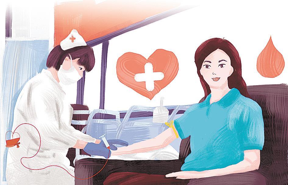 武大博导潘迎春坚持献血16年 她的热血流进了350人的心