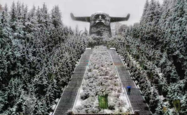 神农架的雪