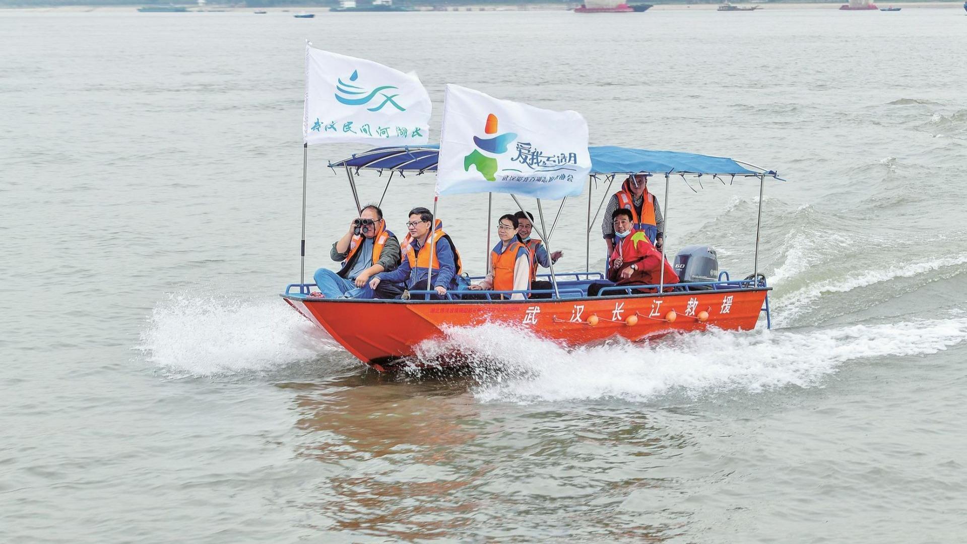 万名志愿者守望水环境 乘风破浪卫我河湖