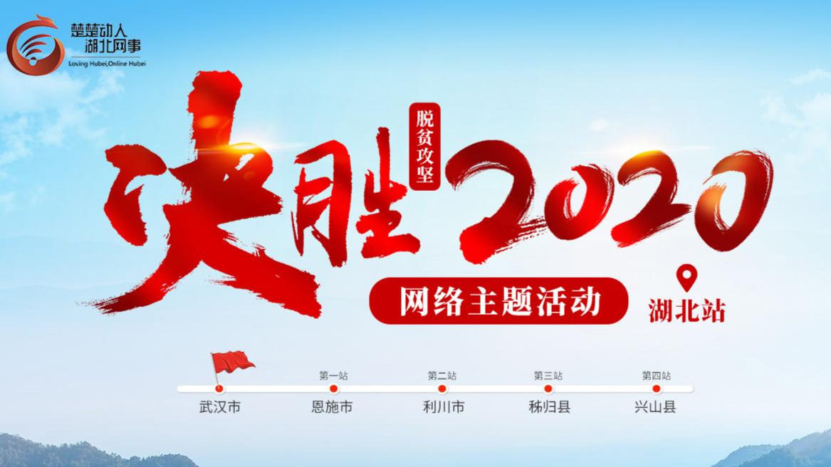 """""""决胜2020""""网络主题活动湖北站"""