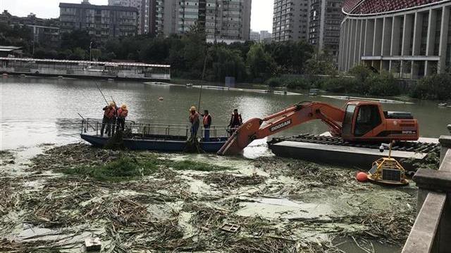 武汉水果湖楚河水环境改善治理开工