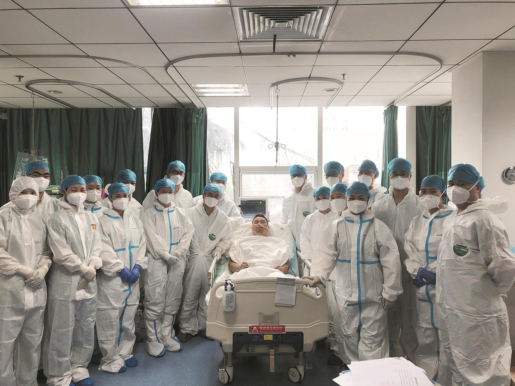 心跳骤停10分钟 男子经39小时抢救起死回生