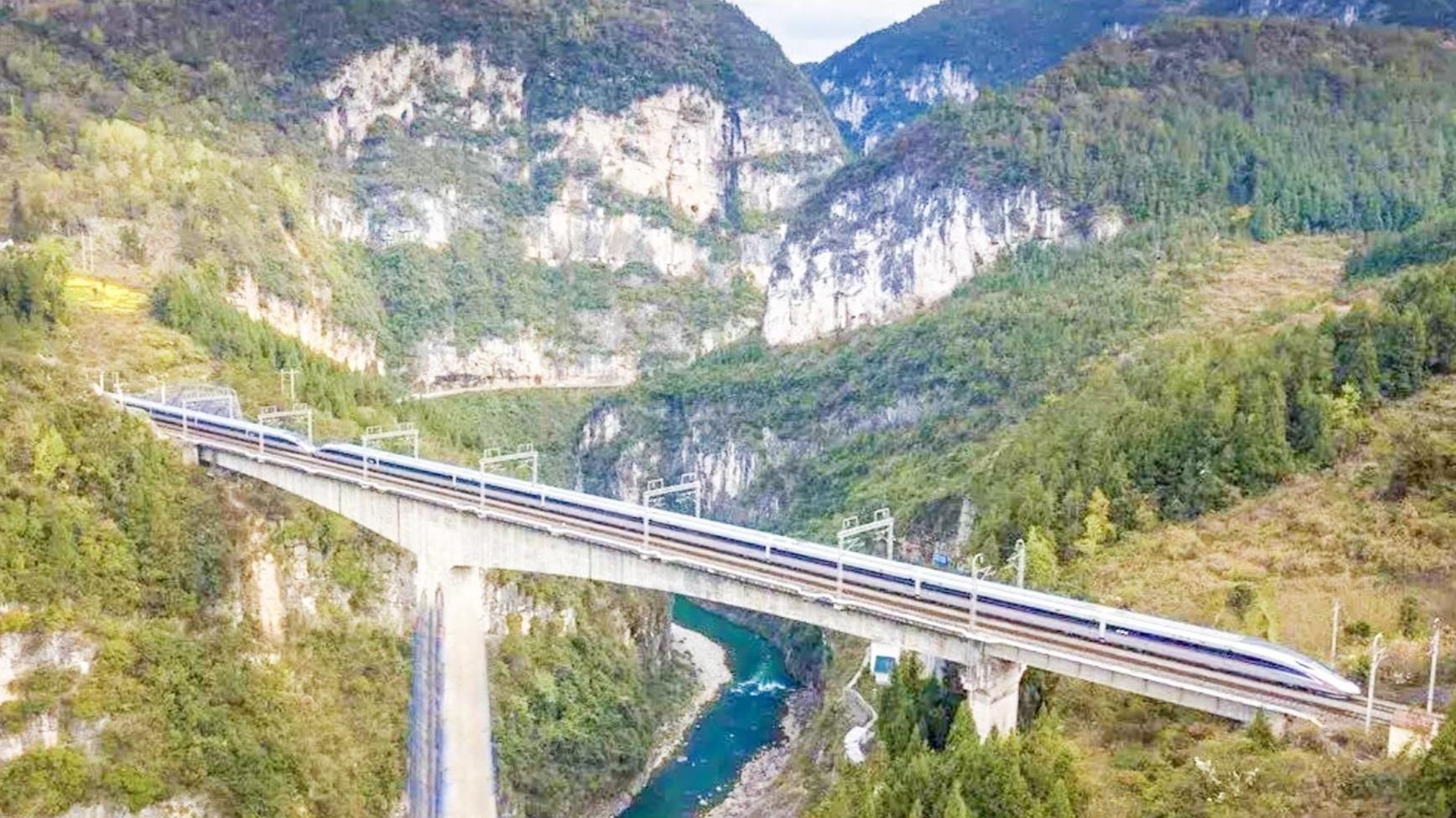 宜萬鐵路開通十年 恩施累計發送旅客超5000萬人次