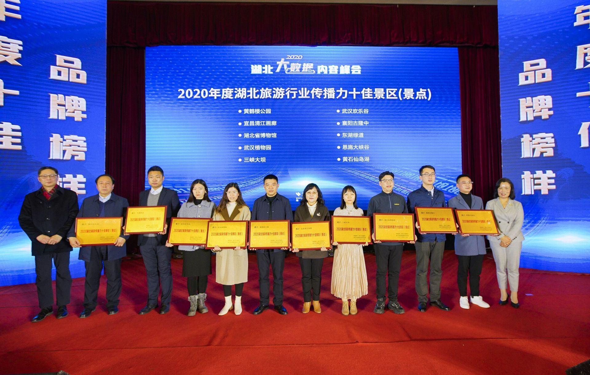 2020年度湖北旅游行业传播力十佳景区揭晓 重燃荆楚生机
