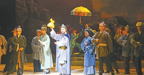 荊州花鼓戲《戒石碑》與武漢觀眾見面