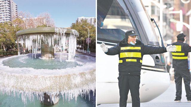 -8.5℃!武漢10年同期最冷 城市因他們溫暖有序
