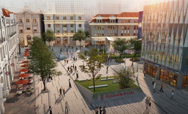 武漢江漢路步行街新規劃!范圍擴大