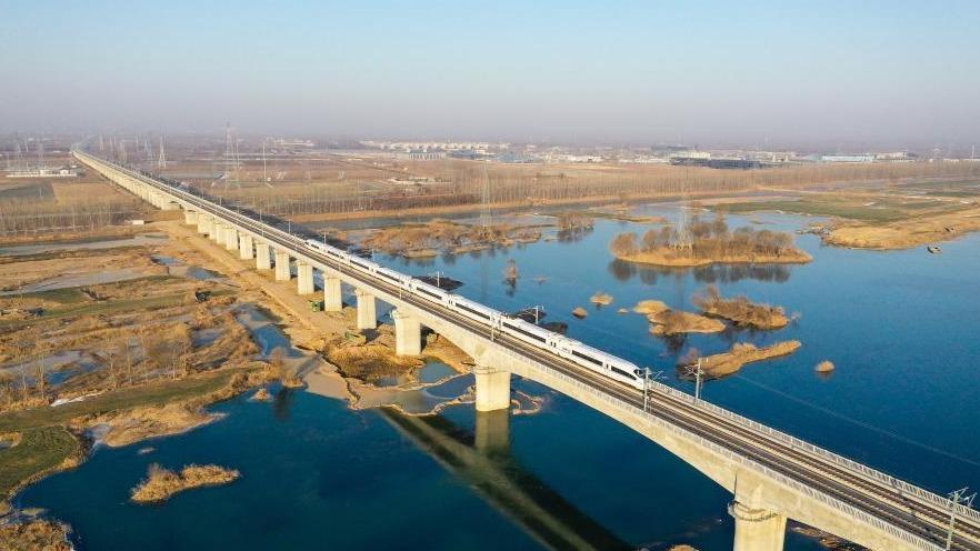 徐連高鐵開始運行試驗