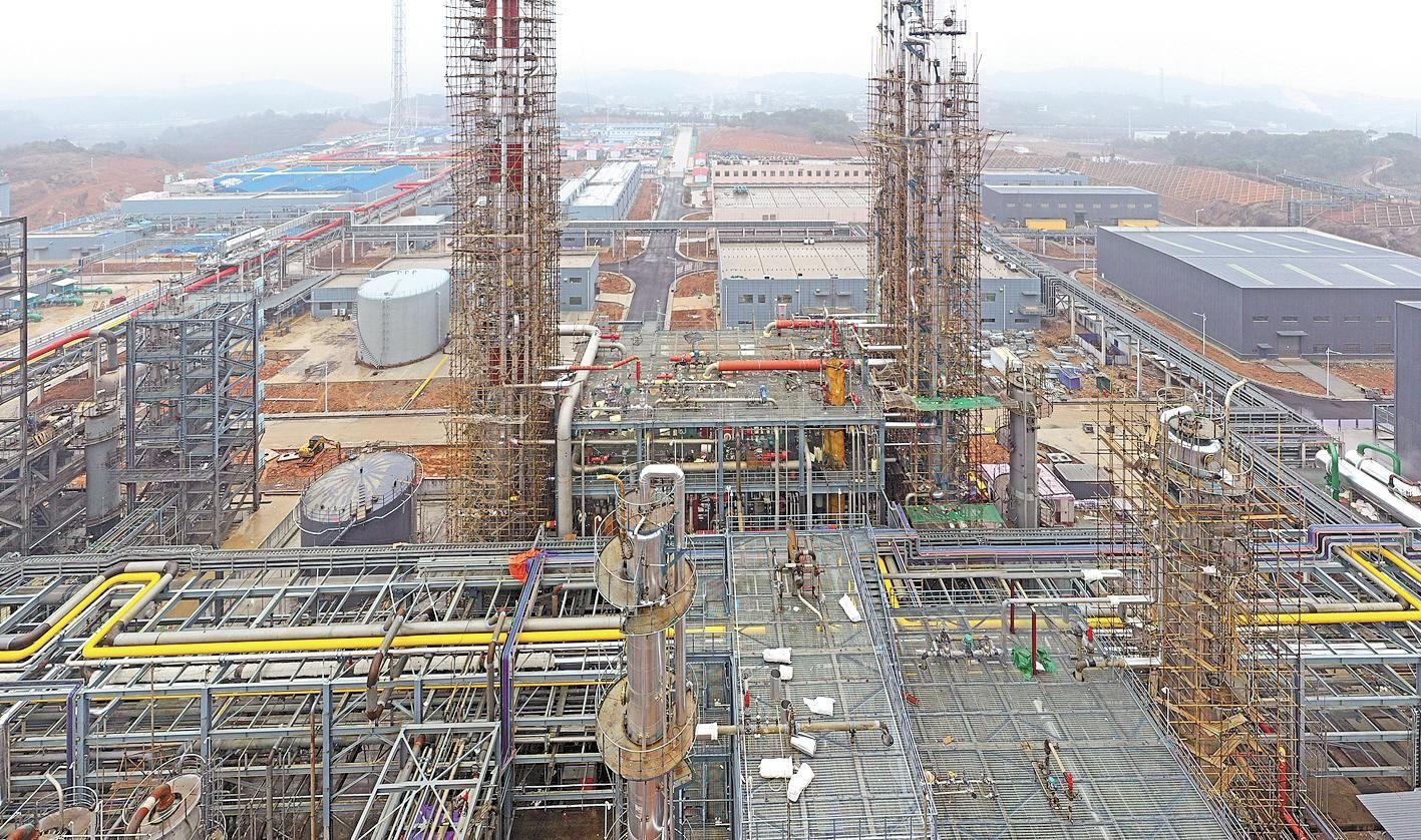 宜昌年产40万吨合成氨生产线4月投产