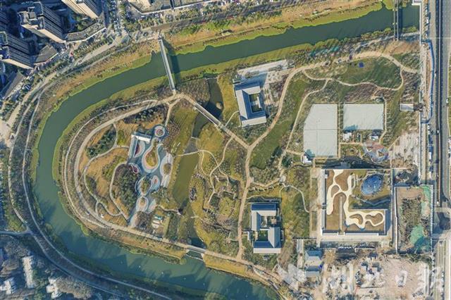 巡司河活水公园1月底将完工