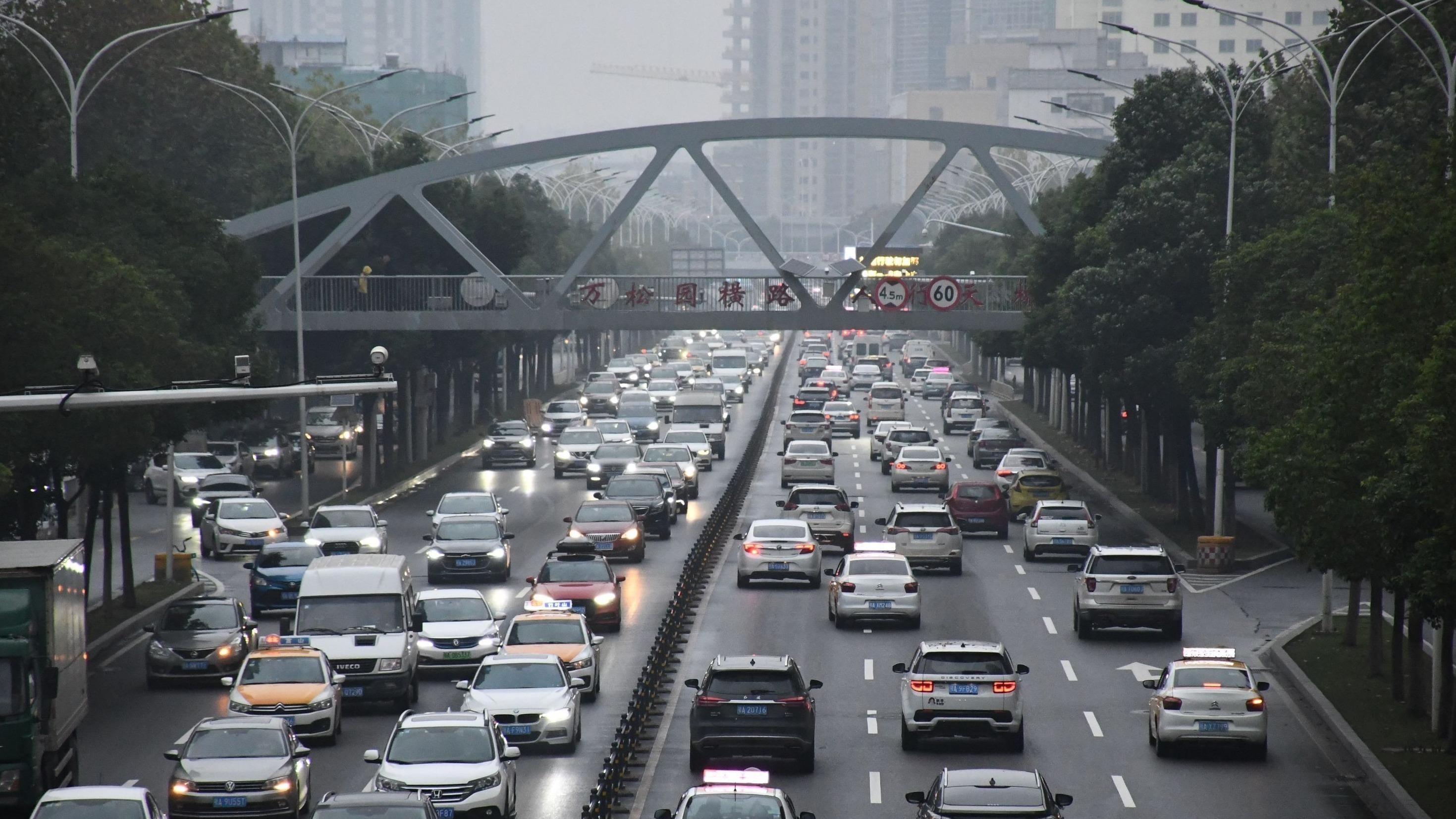 武汉车辆保有量全国排第八