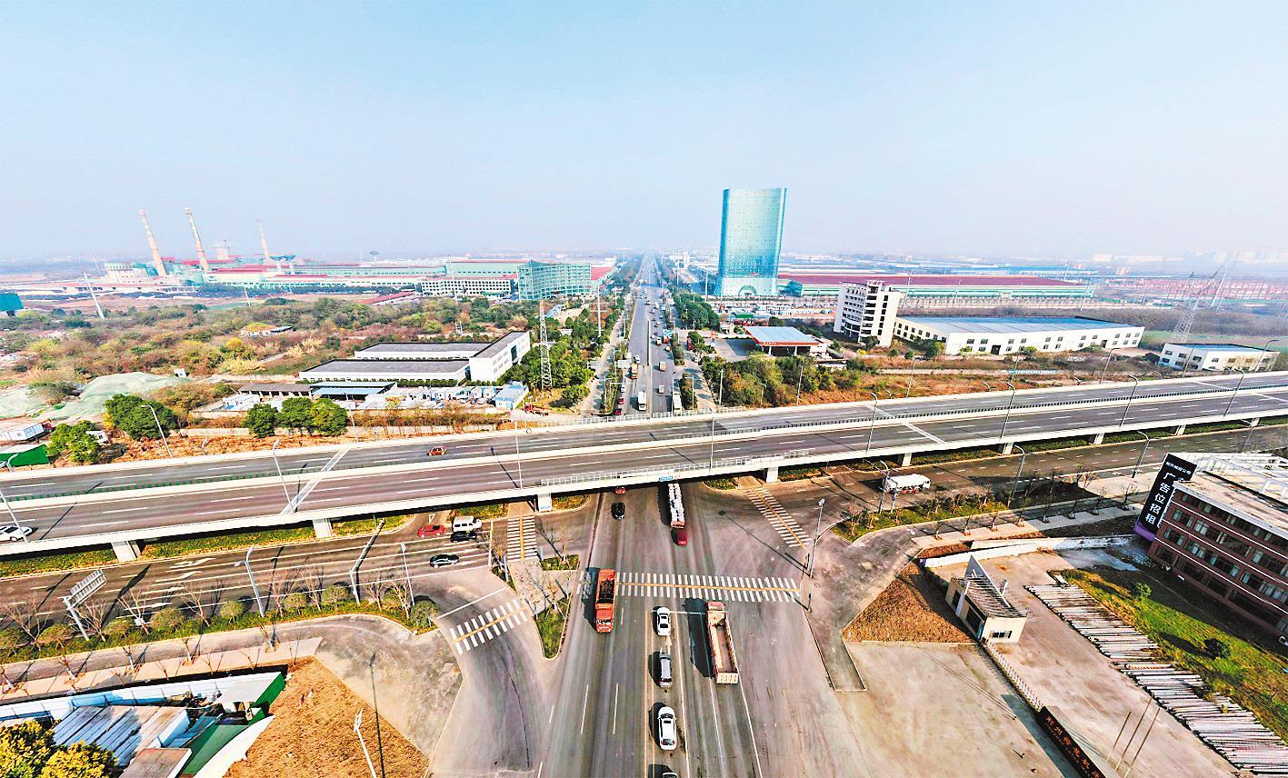 荊州城市快速路全線貫通