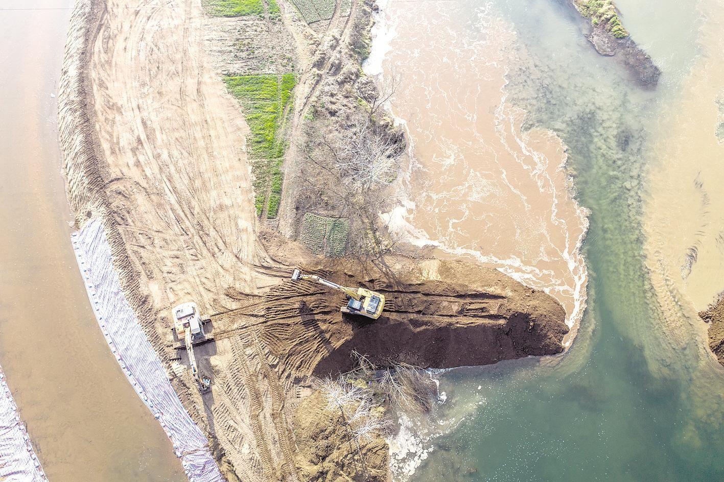当阳引漳河水入城供水工程加速推进