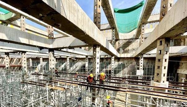 武汉地铁16号线掀起年后全面建设高潮