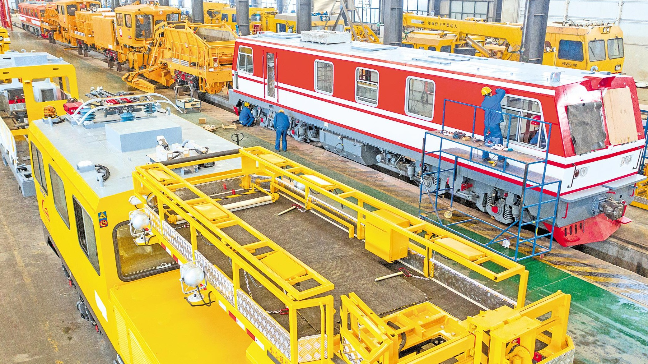 襄阳铁路装备制造赶国际订单