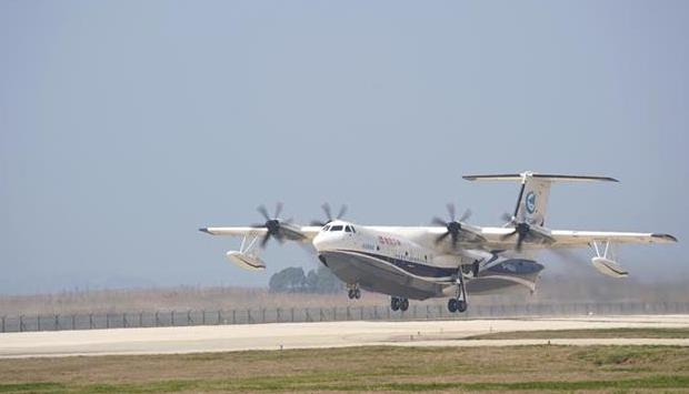 """""""湖北造""""大型水陆两栖飞机进入投水功能验证阶段"""