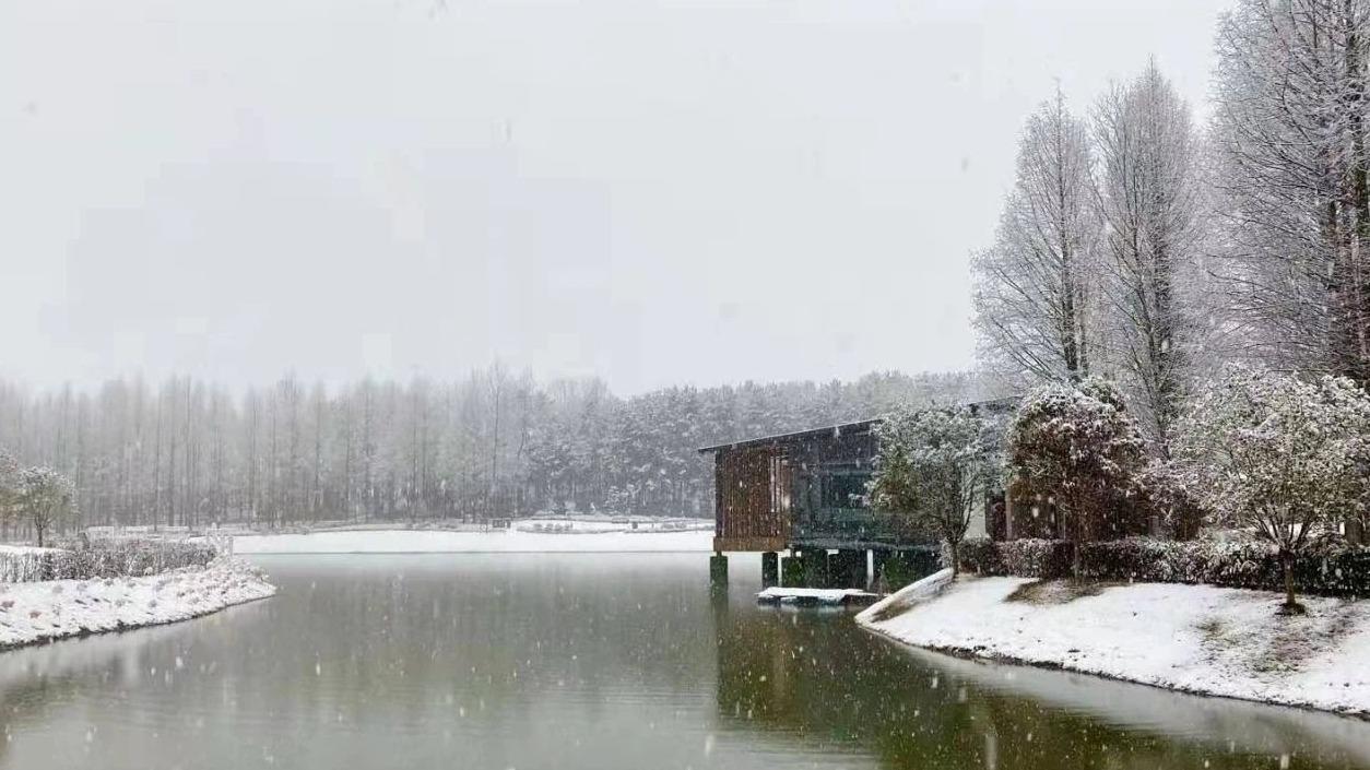 湖北这些地方下雪了!