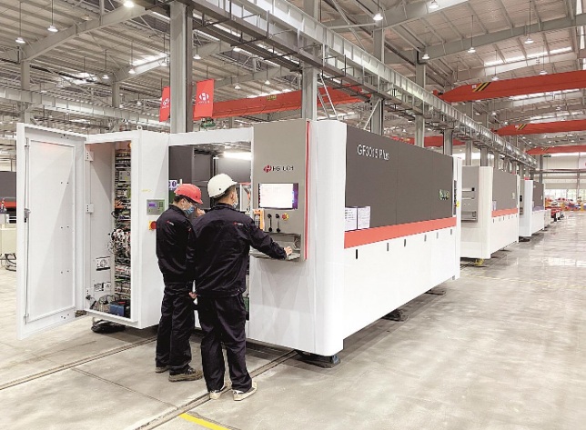华工科技全球首发超高功率激光切割装备