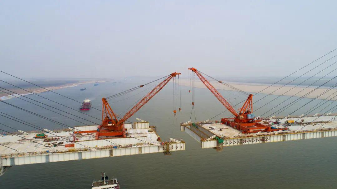 湖北又一长江大桥合龙在即!