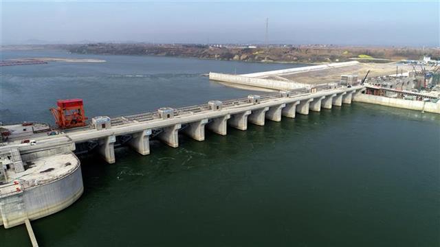 汉江在建的最大枢纽工程将于5月蓄水、6月发电