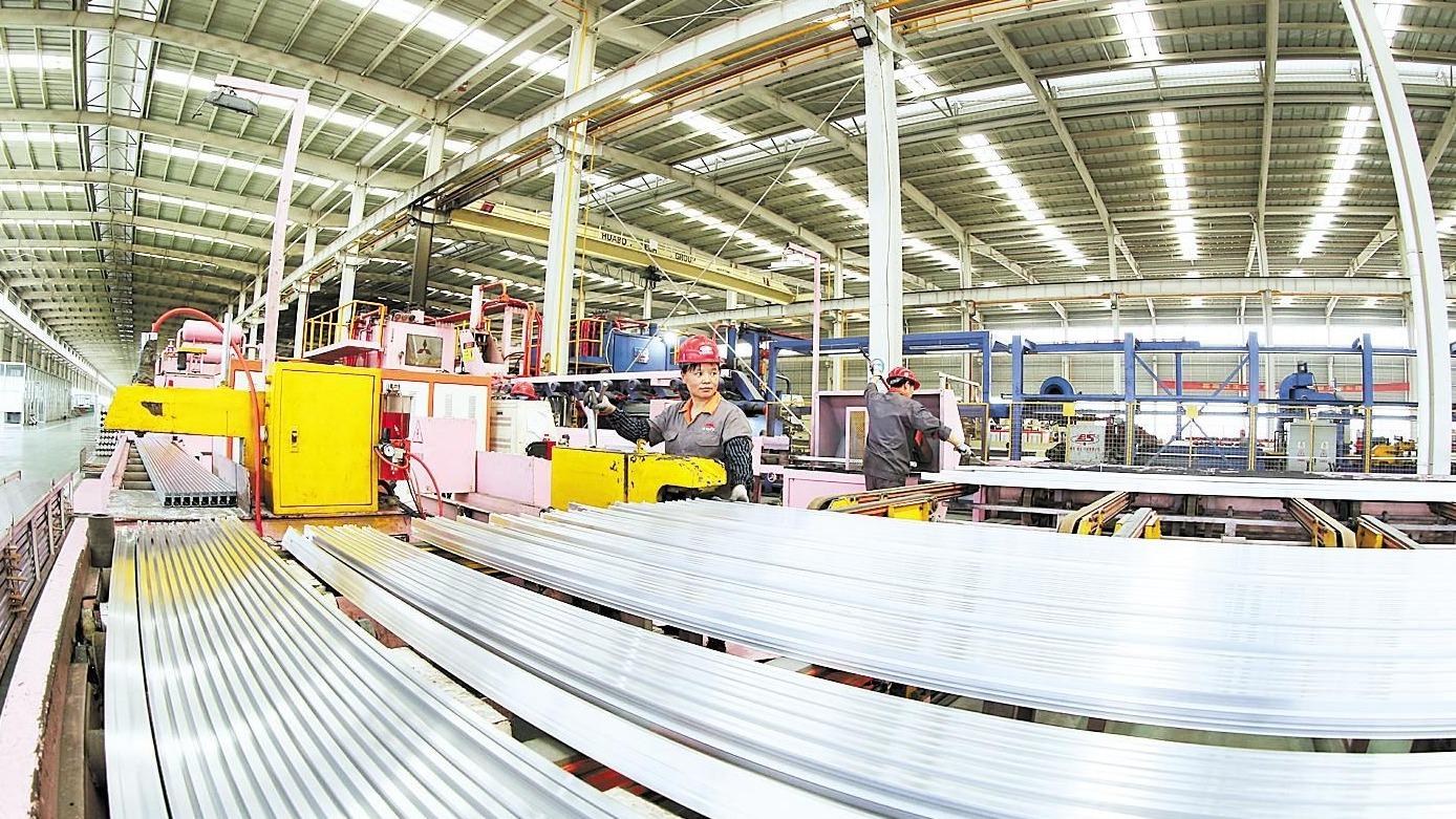 华博科技日产170吨环保型新材料