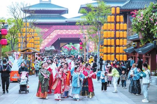 清明小长假,荆州接待游客33万余人次!