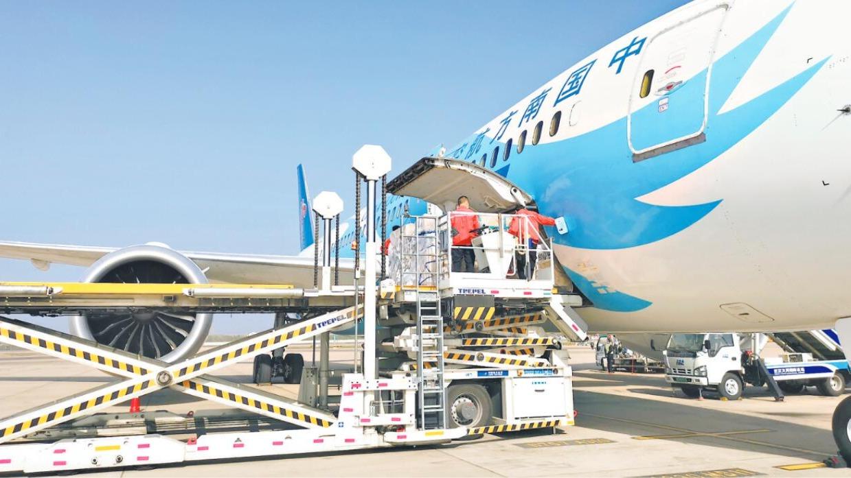 天河机场航空物流中心下月投用
