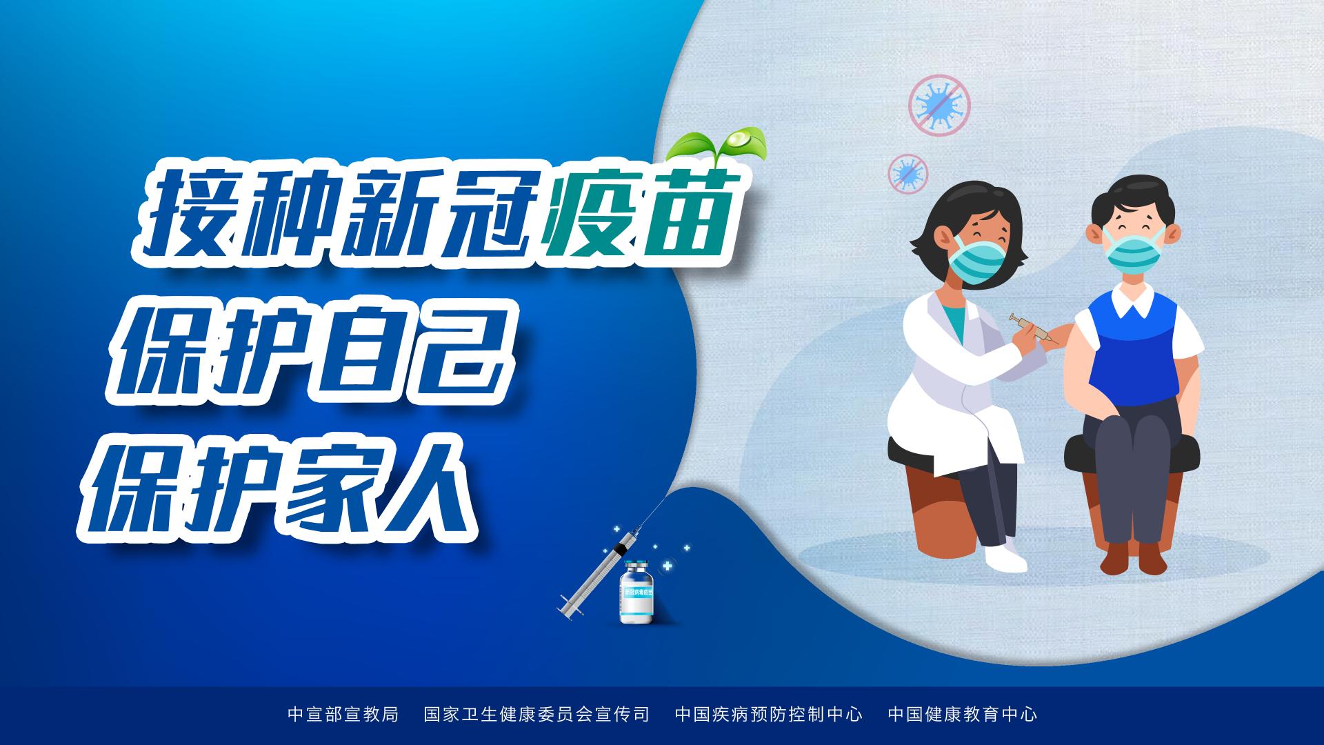 新冠病毒疫苗接种系列海报请查收→