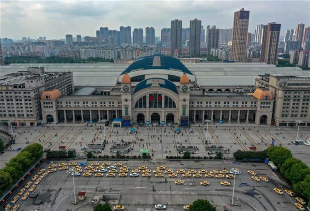 新汉口火车站跨入而立之年