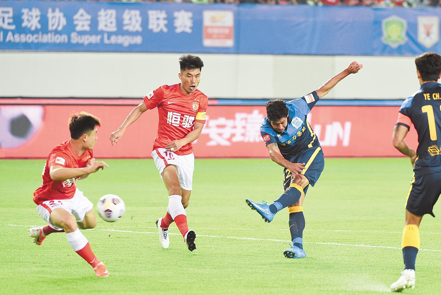 新赛季中超联赛开幕 武汉队静待23日首秀