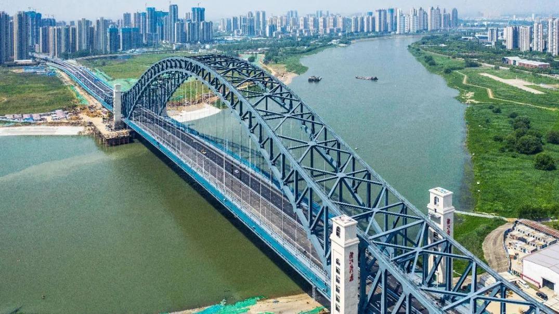 武汉第七座汉江大桥汉江湾桥正式通车