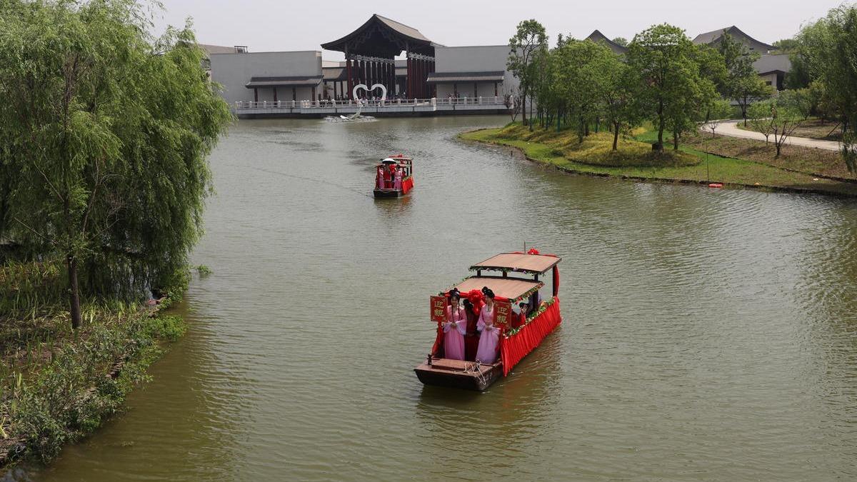 """沔阳小镇""""水""""特色吸引上万游客"""