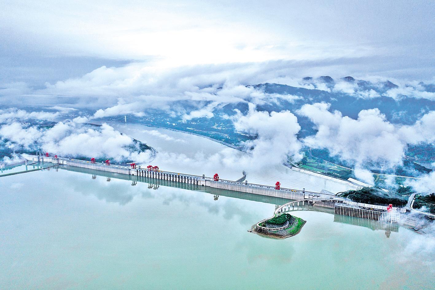 三峡工程:巍然挺立的民族复兴里程碑