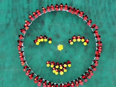 笑迎世界微笑日