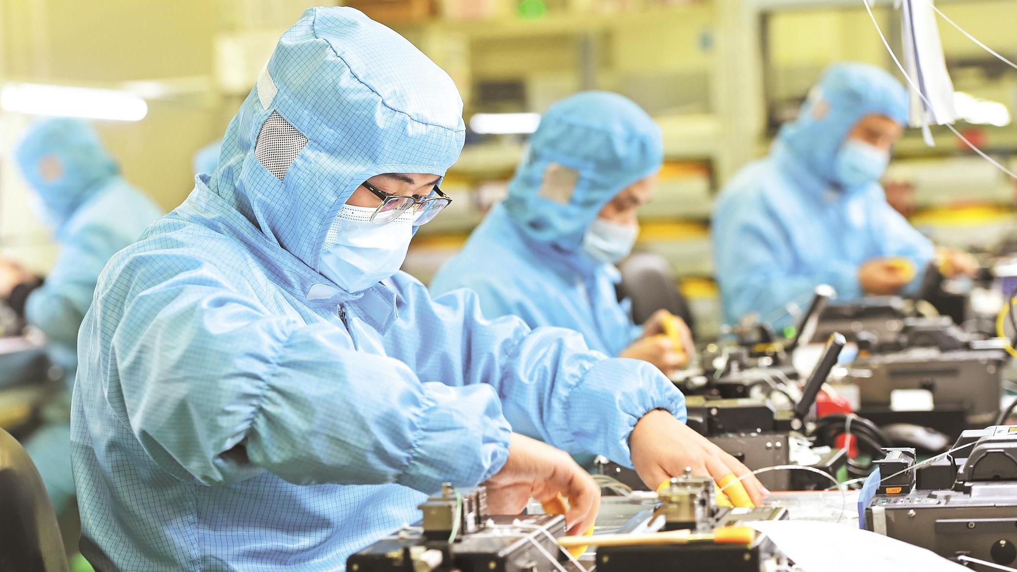 """""""武汉造""""光棒光纤光缆产销量全球第一"""