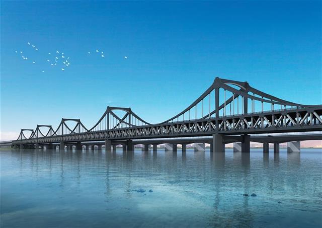 bt365官网:建桥军团助力超级大桥杭州彭埠大桥合龙