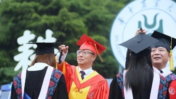吹起新征程的號角,華農2021畢業典禮舉行