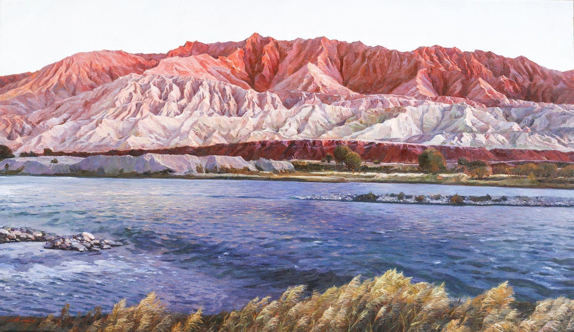慶祝建黨百年湖北優秀美術作品展開展