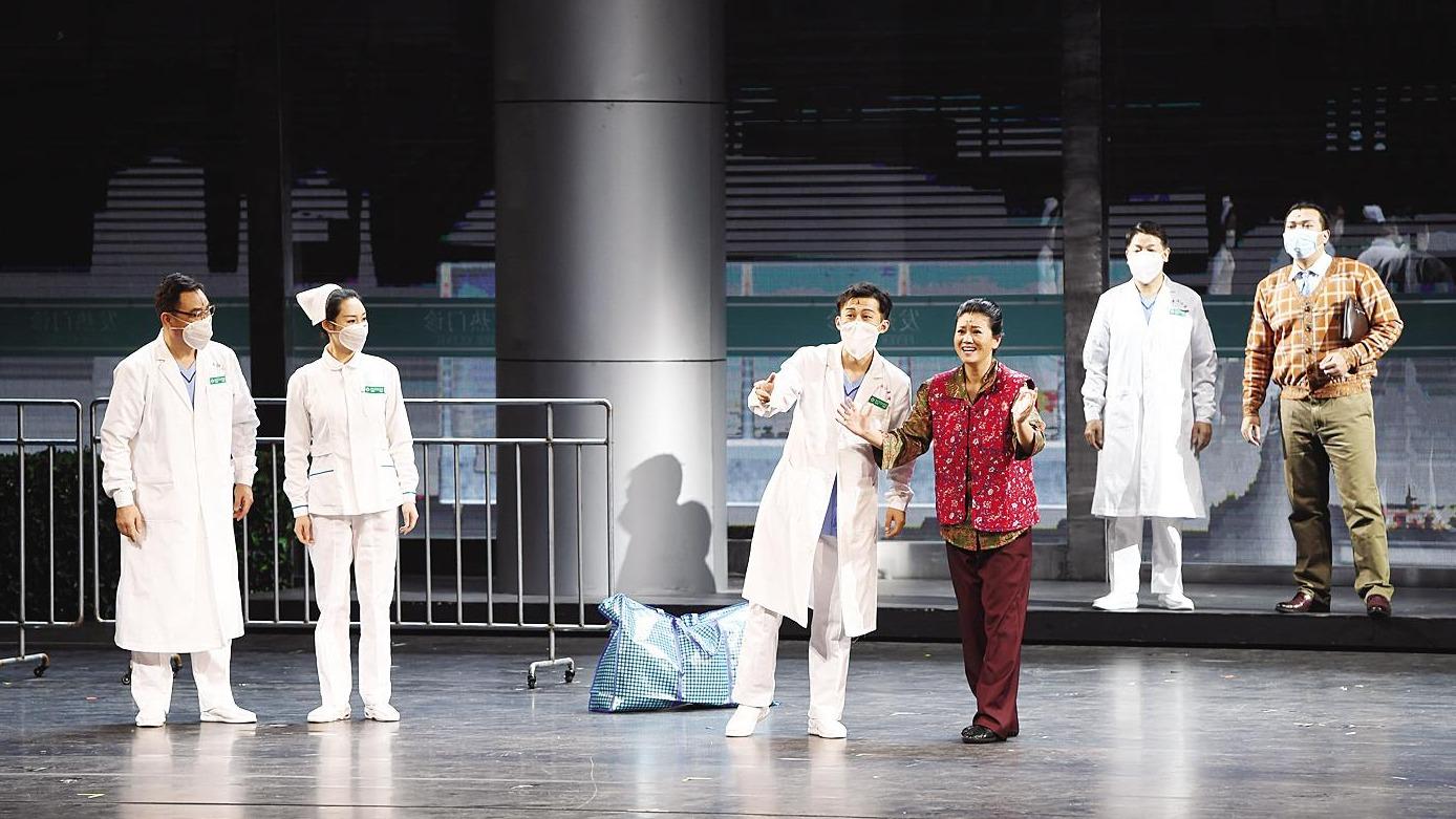 湖北原創歌劇《天使日記》首都綻放魅力