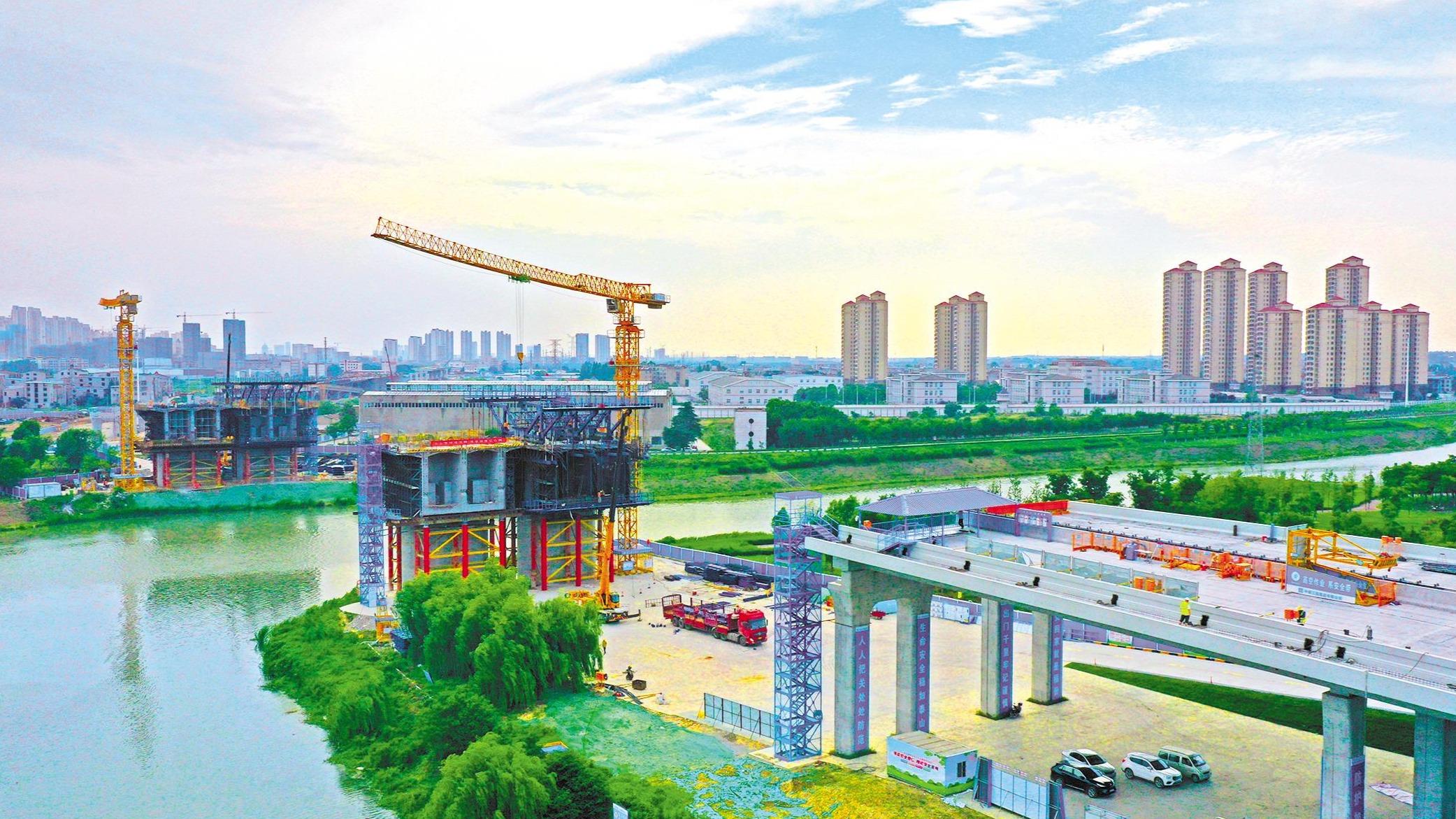 襄阳环线提速改造工程加快建设