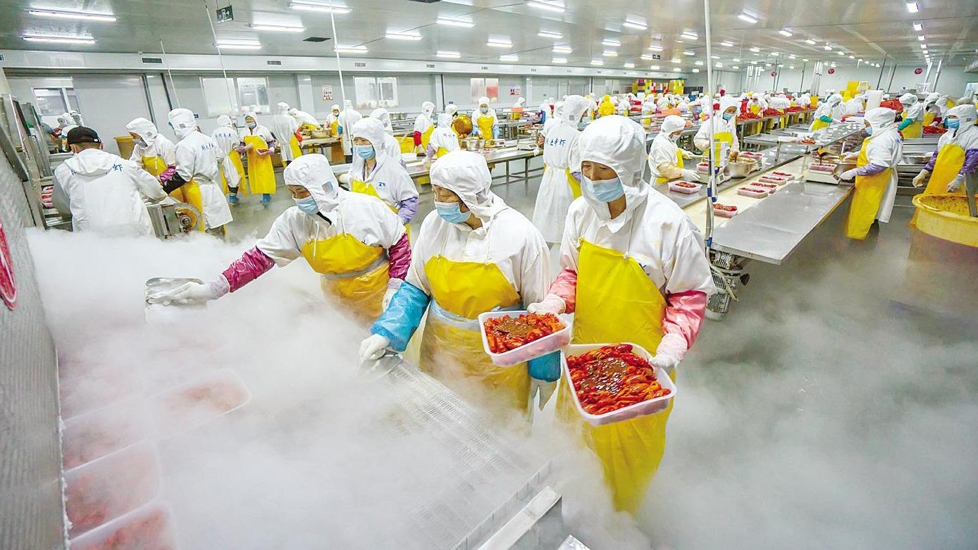 潜江壮大虾稻产业链
