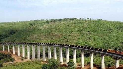 几内亚首条现代化铁路顺利通车 在汉央企参建