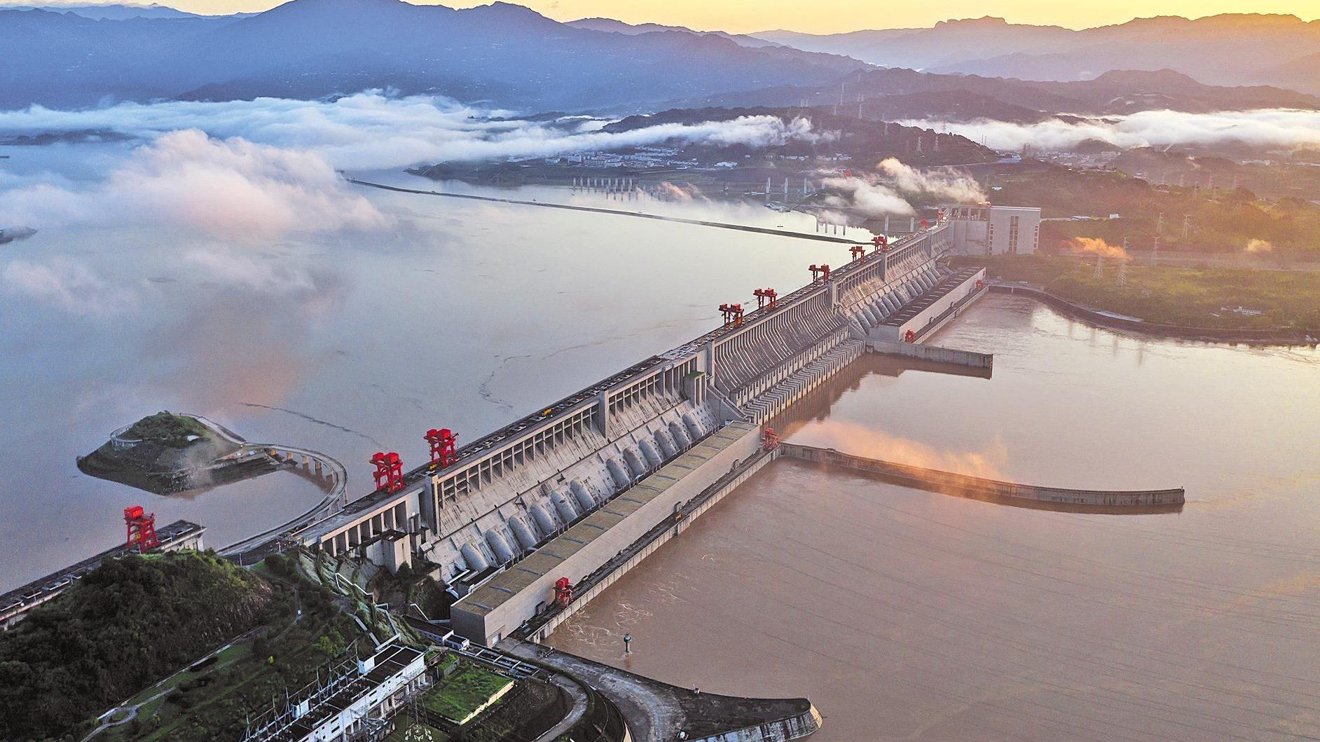 三峽水庫上半年為下游補水超200億立方米