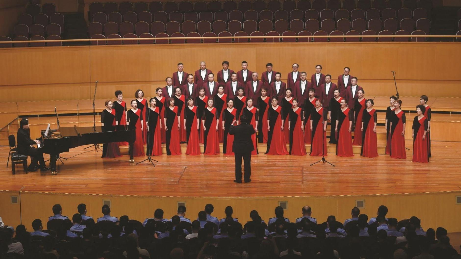 第十六屆中國合唱節昨晚在武漢拉開大幕