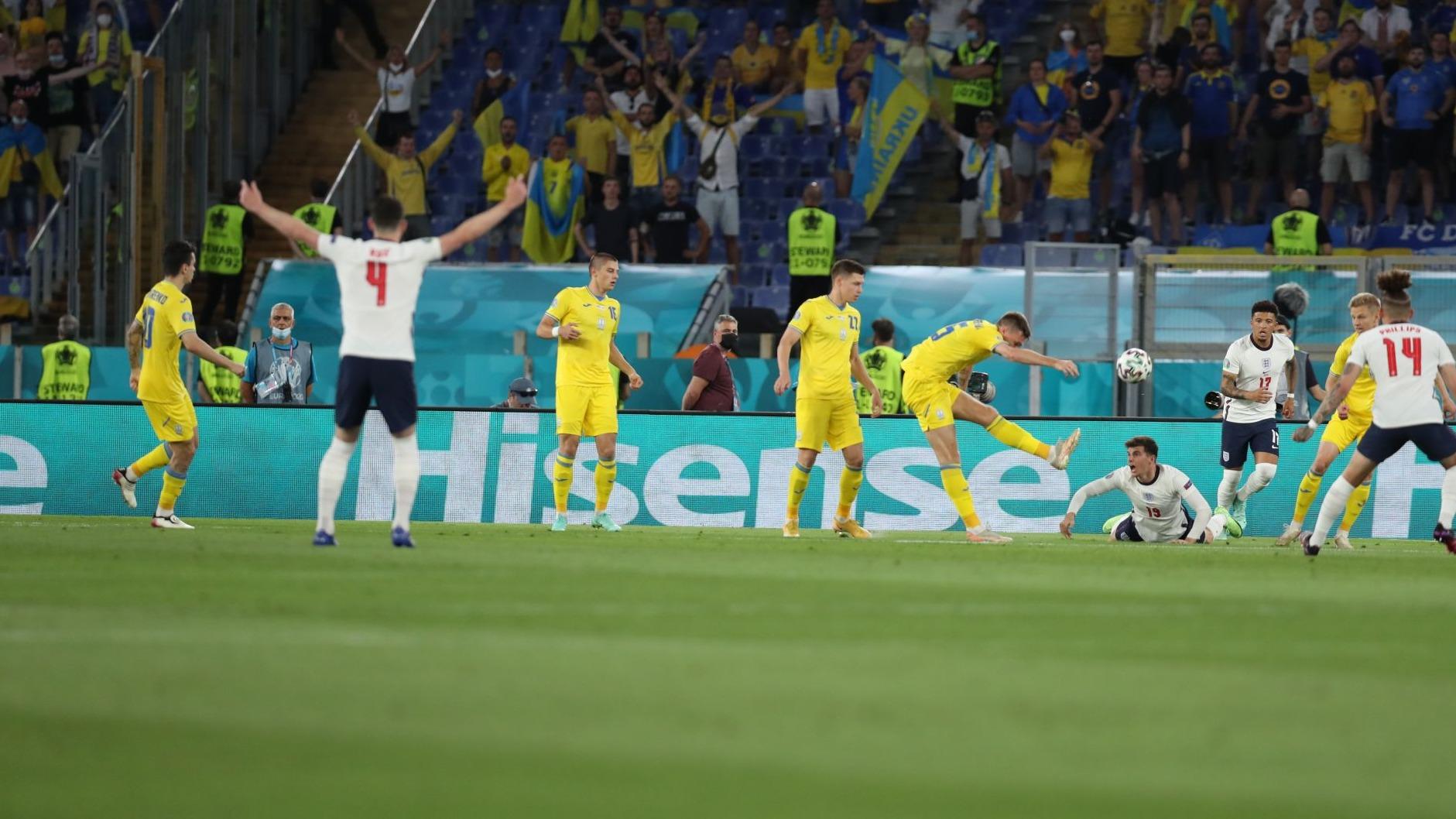 歐洲杯|丹麥、英格蘭會師半決賽